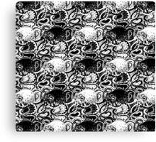 Octopattern Canvas Print