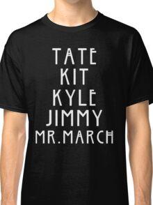 Evan Peters AHS Roles - White Classic T-Shirt