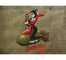 Harley War Pinup Photographic Print
