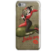 Harley War Pinup iPhone Case/Skin