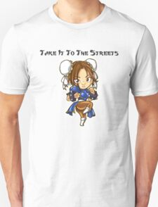 Street Fighter Chun-Li Take It To The Streets  Unisex T-Shirt