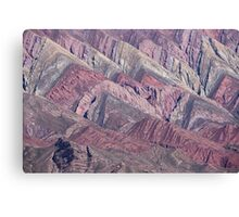Quebrada de Humahuaca, Northern Argentina Canvas Print