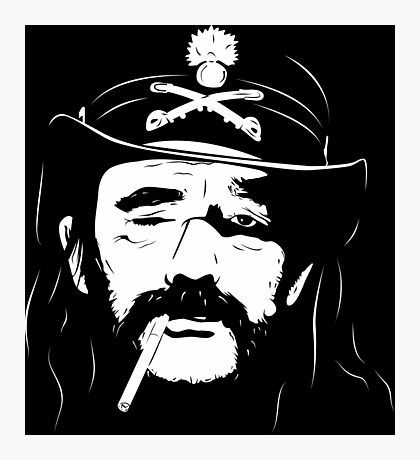 Lemmy Kilmister Photographic Print