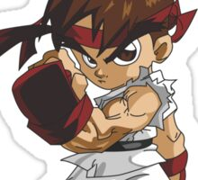 Street Fighter Ryu Take It To The Streets Sticker