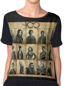The 100 poster 1 Chiffon Top