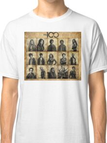 The 100 poster 1 Classic T-Shirt