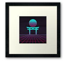 Neon Japan  Framed Print