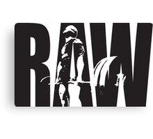 Raw Strength (Deadlift) Canvas Print