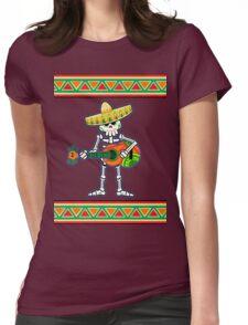 la guitarra de los muertos Womens Fitted T-Shirt