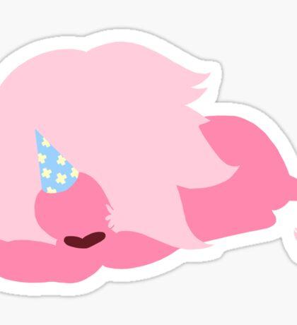 Lion Resting ft. Party Hat Sticker