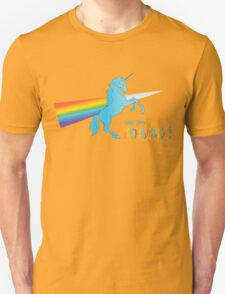 Cool unicorn like rainbow prism Unisex T-Shirt