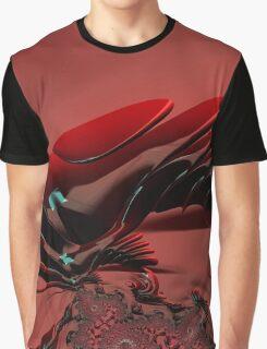 Chameleon Red Graphic T-Shirt
