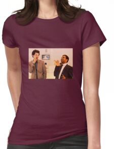 Jean-Ralphio and Tom Womens Fitted T-Shirt