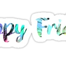 Happy Friday Sticker