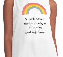 You'll never find the rainbow if you're looking down Contrast Tank