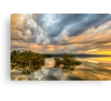 Reflections Of A Thunderstorm Canvas Print