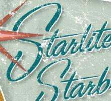 Starlite Starbrite Trailer Park Sticker
