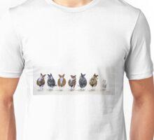 Corgi Butt Lineup with Chihuahua Unisex T-Shirt
