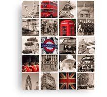 Celebrate London Canvas Print