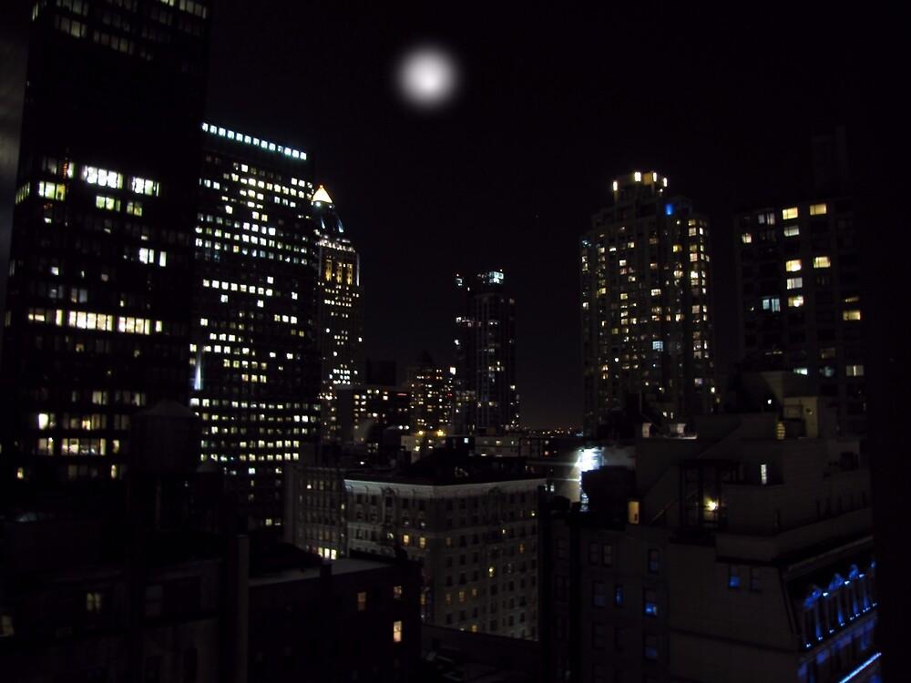 Gotham City by David Dehner