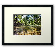 Big Chico Creek Framed Print