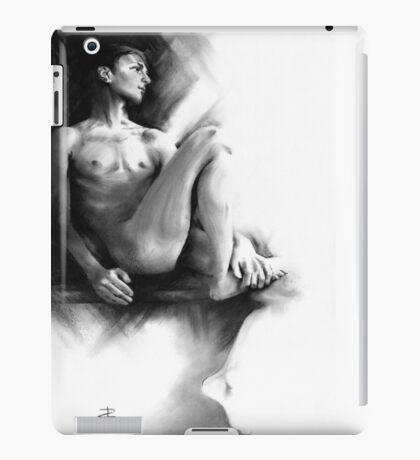 Dylan - Conté Drawing iPad Case/Skin