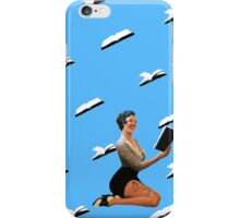 Bombshells Read for Fun_Blue iPhone Case/Skin