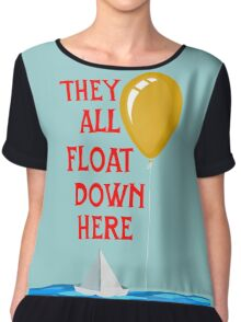 They all float... Chiffon Top