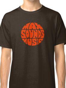 Max Sounds Music - Orange Classic T-Shirt