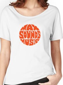 Max Sounds Music - Orange Women's Relaxed Fit T-Shirt