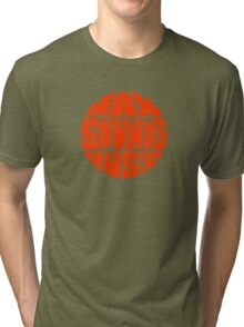 Max Sounds Music - Orange Tri-blend T-Shirt