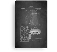 Soldier Protector Patent 1918 Canvas Print