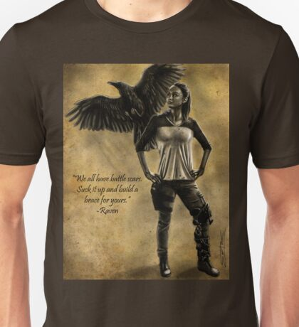 Raven Stay Strong 2 Unisex T-Shirt