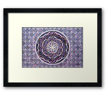 Blossoming Activation Framed Print