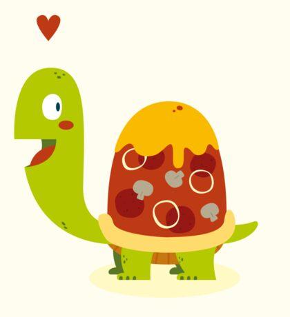 Pizza turtle Sticker