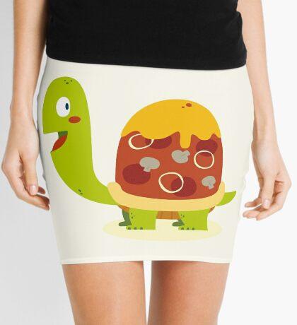 Pizza turtle Mini Skirt