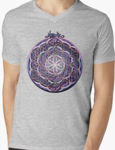 Blossoming Activation Mens V-Neck T-Shirt