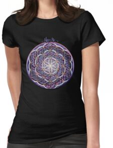 Blossoming Activation Womens Fitted T-Shirt