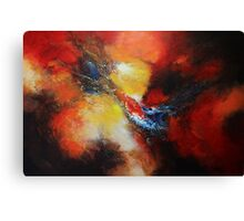 Fury Abstract  Canvas Print