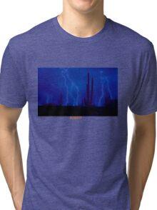 TRAVI$ SCOTT- RODEO SHIRT (DESERT STORM) Tri-blend T-Shirt