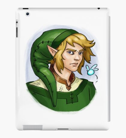 Grown up Link and Navi iPad Case/Skin