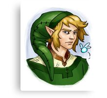 Grown up Link and Navi Canvas Print