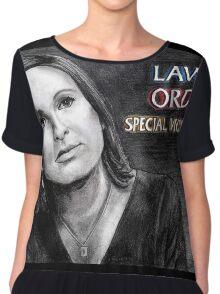 Olivia Benson Law and Order SVU Chiffon Top