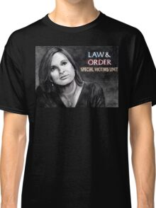 Olivia Benson Law and Order SVU Classic T-Shirt