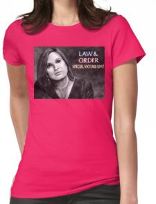 Olivia Benson Law and Order SVU Womens Fitted T-Shirt