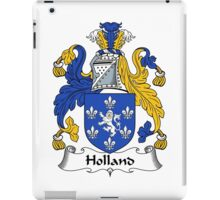 Holland Coat of Arms / Holland Family Crest iPad Case/Skin