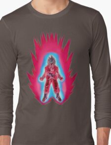 Goku God Kaioken x10 Long Sleeve T-Shirt