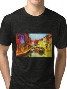 Gondola of Italy Tri-blend T-Shirt