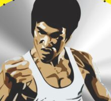 Bruce Lee The Master  Sticker