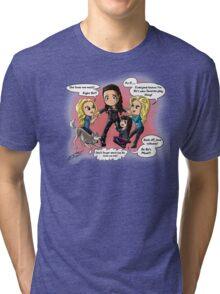 Bo Tug a War Tri-blend T-Shirt